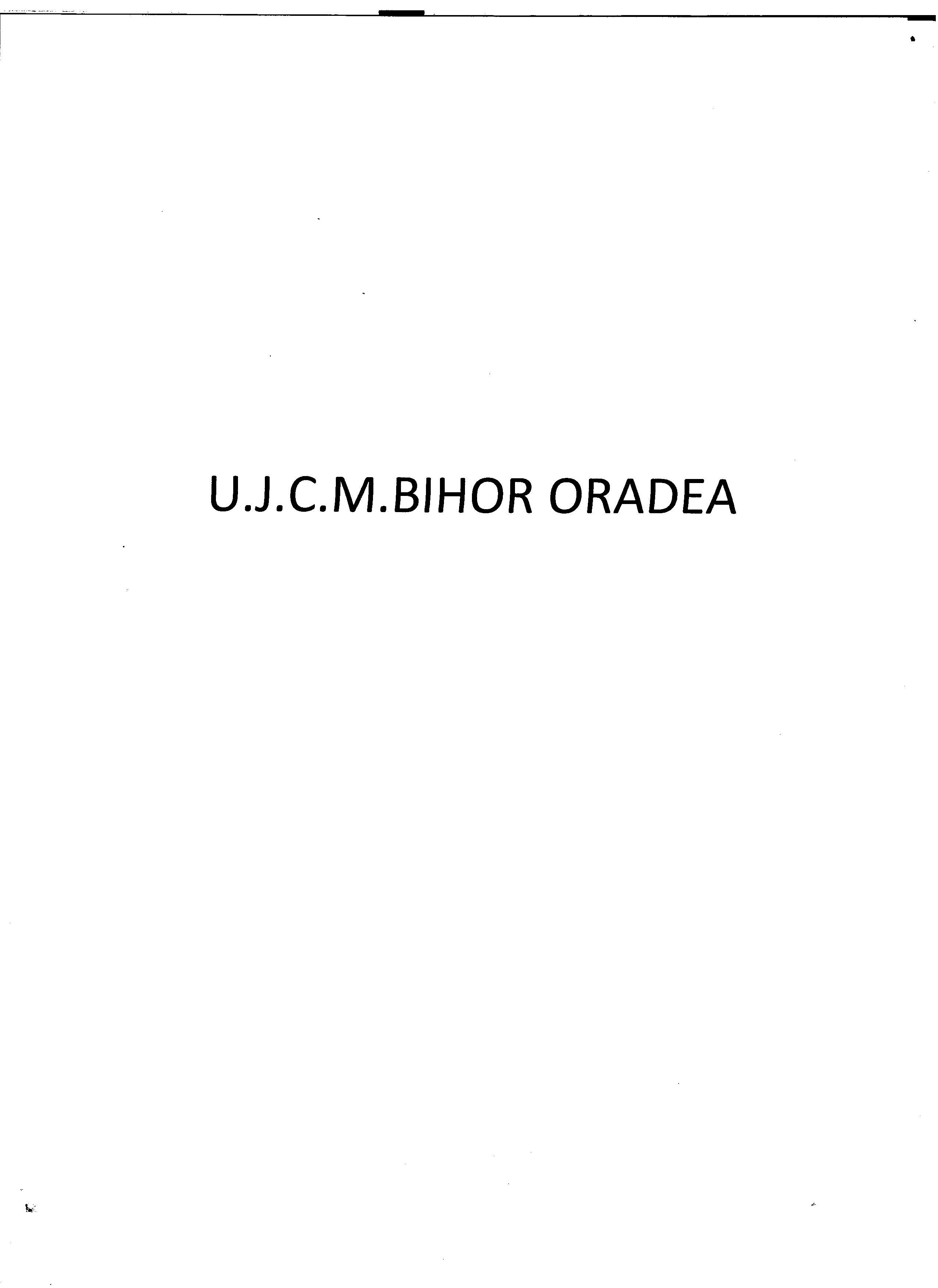UNIUNEA JUDETEANA A ORGANIZATIILOR COOPERATIEI MESTESUGARESTI BIHOR